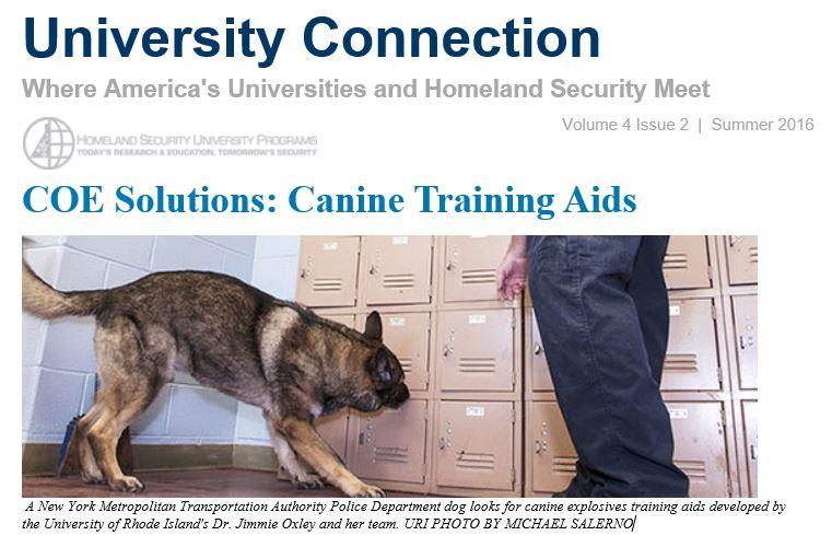 Screenshot of OUP Newsletter